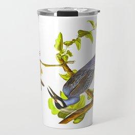 Yellow-Crowned Heron Travel Mug