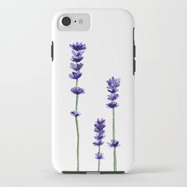 Lavender Flowers. iPhone Case