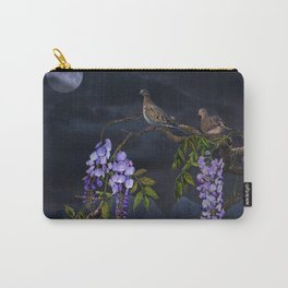 Doves In Moonlight Carry-All Pouch