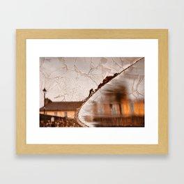 Stream of Peeling Dreams Framed Art Print