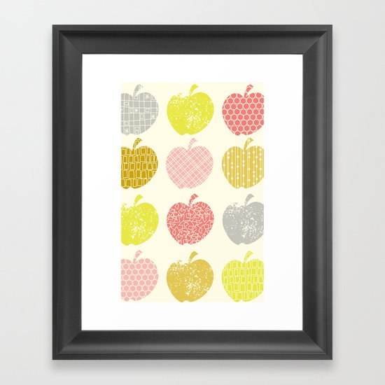 Juicy Fruit Framed Art Print