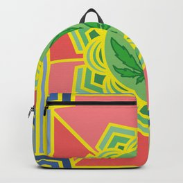 holy cannabis Backpack