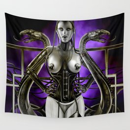 Dolls - Robot Lucy Wall Tapestry
