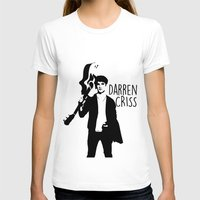 darren criss T-shirts featuring Darren Criss with guitar! by byebyesally