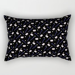 Flowers Crowbar and Sixpack Rectangular Pillow