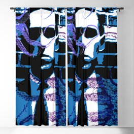 H. P. Lovecraft Poster Blackout Curtain