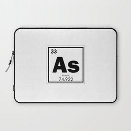 Arsenic chemical element Laptop Sleeve