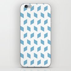 rhombus bomb in dusk blue iPhone & iPod Skin