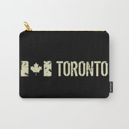 Canadian Flag: Toronto Carry-All Pouch