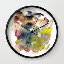 Watercolor multicolor 22 Wall Clock