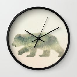 Little Ones: Polar Bear Wall Clock