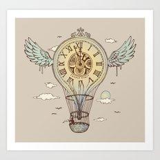 Time's Up Art Print