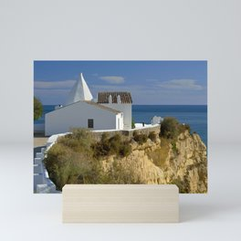 Nossa Senhora da Rocha chapel, Portugal, the Algarve Mini Art Print