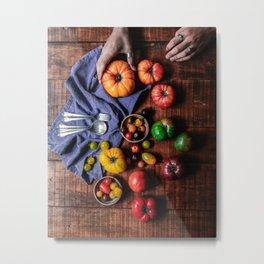 Farm Fresh (Color) Metal Print