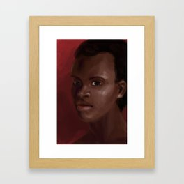 Kina Jones Framed Art Print
