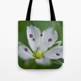 Delicate Flower Tote Bag