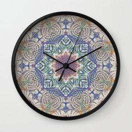 Jungle Kaleidoscope Wall Clock
