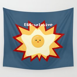 EGG-splosive!! Wall Tapestry