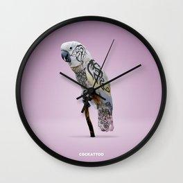 Cockattoo Wall Clock