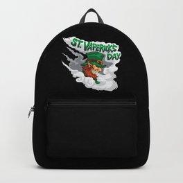 St. Vaperick's Day - Vaping Leprechaun - Vape Backpack