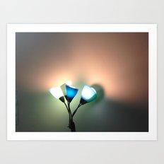 Modern Flowers Art Print