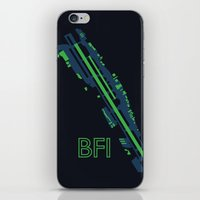 seahawks iPhone & iPod Skins featuring Boeing Field (BFI) - Seahawks by Kyle Rodgers