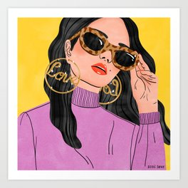 Love Bling Art Print