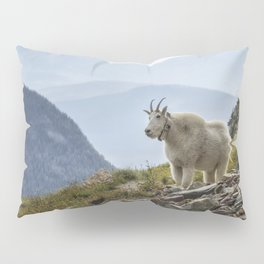 The Ups and Downs of Being A Mountain Goat No. 2a Pillow Sham