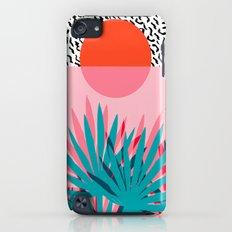 Whoa - palm sunrise southwest california palm beach sun city los angeles retro palm springs resort  iPod touch Slim Case