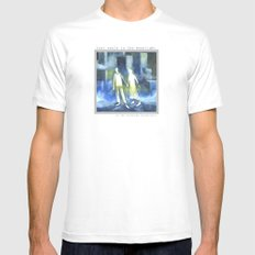 Lost souls at moonlight MEDIUM White Mens Fitted Tee
