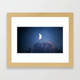 ONLY MOON - REWORK Framed Art Print