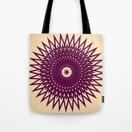 Grape Flavored Starburst Tote Bag