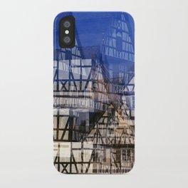 Fachwerk #1 iPhone Case