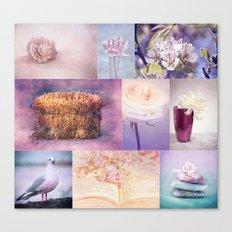 ROMANTIC COLLAGE Canvas Print