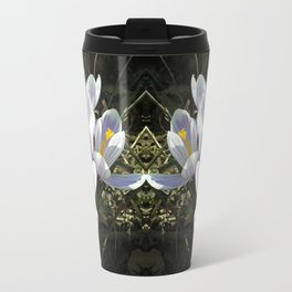 Spring crocus flowers Travel Mug