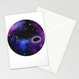 Space Fishing Stationery Cards