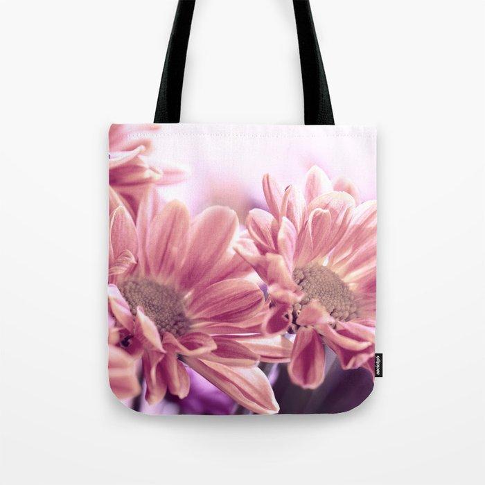 Aster flower macro 254 Tote Bag