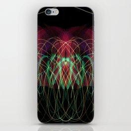 Symmetrical Turquise - 01 I - I iPhone Skin
