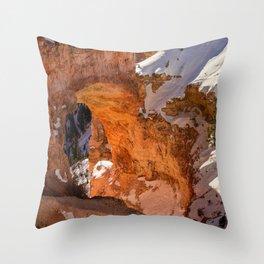 Natural_Bridge 8572 - Bryce_Canyon National_Park, Utah Throw Pillow