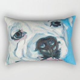 Atlas the Boxer Rectangular Pillow