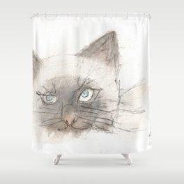 Unimpressed Shower Curtain