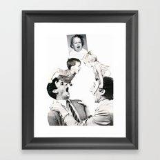 The Mood Pyramid Framed Art Print