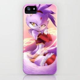 Blaze The Cat iPhone Case