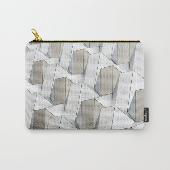 Pattern cubism Carry-All Pouch
