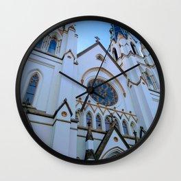 Sunday Morning at the Cathedral Wall Clock