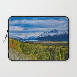 Matanuska Glacier, Alaska - Autumn Laptop Sleeve