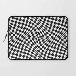 Chess Pattern | Strategy Tactic Board Game Laptop Sleeve