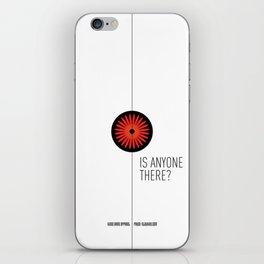 Is anyone there? iPhone Skin