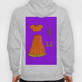 Her sari Hoody