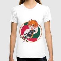 haikyuu T-shirts featuring Hinata Chibi by Kuroharra